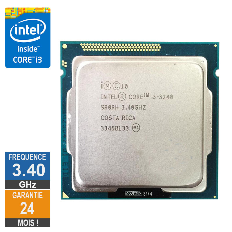 Processeur Intel Core I3-3240 3.40GHz...