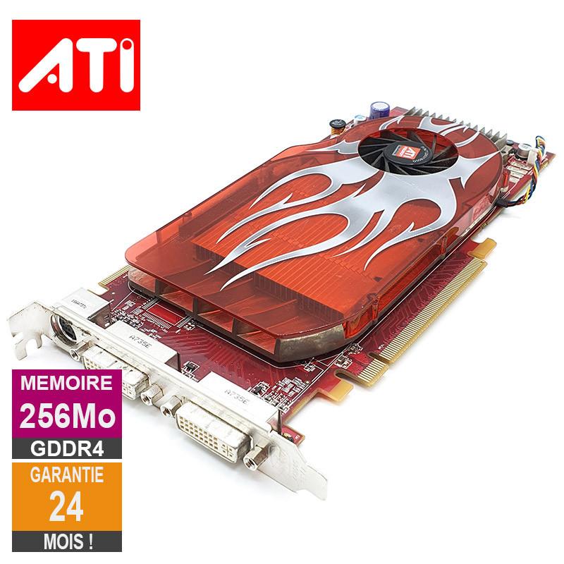 carte graphique ati radeon Carte graphique ATI Radeon 2600XT 256Mo GDDR4 PCI e DVI S Video 0WX092