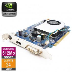 Carte graphique ASUS Nvidia GeForce 8600GT 512Mo GDDR3 PCI-e HDMI DVI S-Video 5188-7647