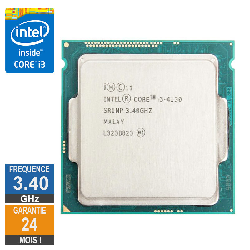 Processeur Intel Core I3-4130 3.40GHz...