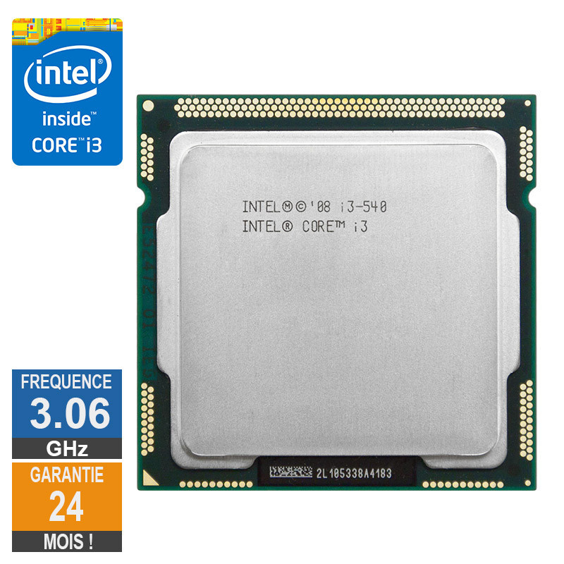 CPU Intel Core I3-540 3.06GHz SLBMQ...