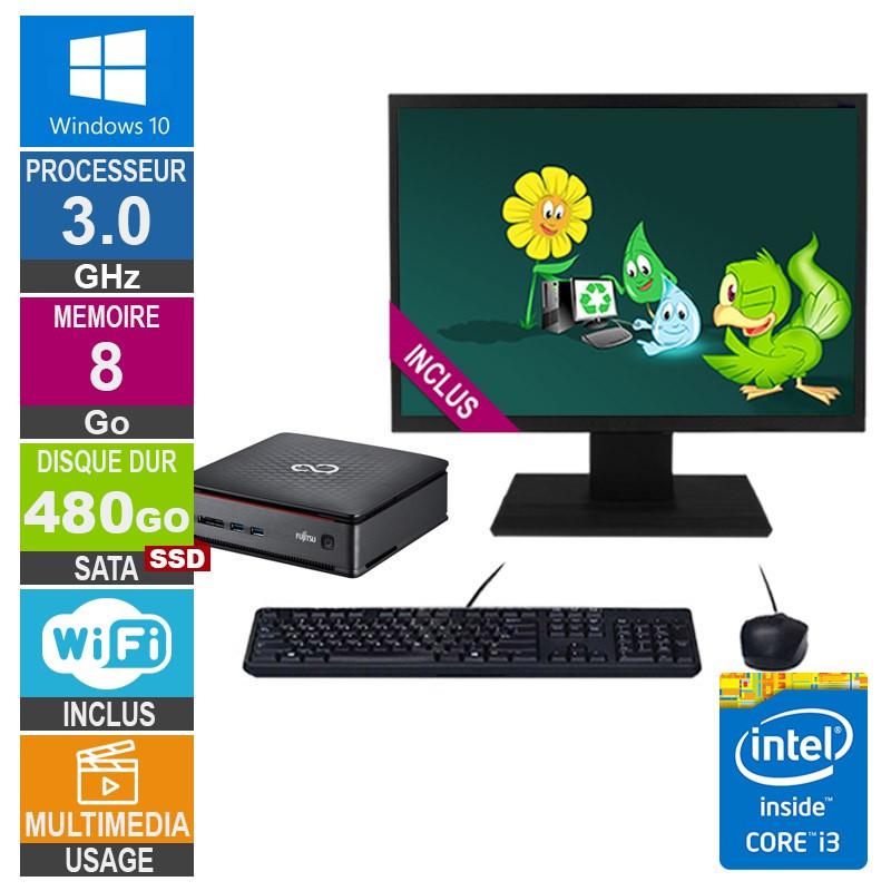Mini PC Fujitsu Esprimo Q920 i3-4150T...
