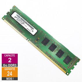 Barrette Mémoire 2Go RAM...