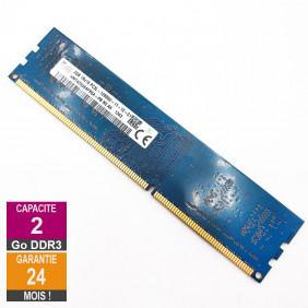 Barrette Mémoire 2Go RAM DDR3 Hynix HMT425U6AFR6A-PB DIMM PC3L-12800U 1Rx16