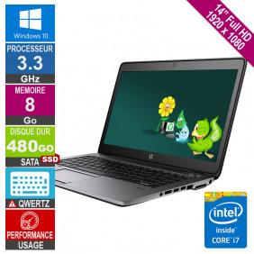 "Laptop 14"" HP EliteBook 840..."