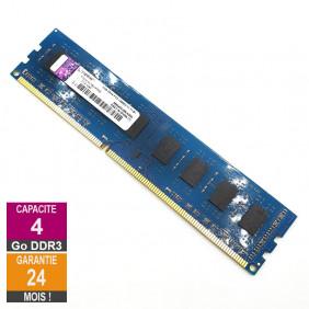 Barrette Mémoire 4Go RAM DDR3 Kingston HP655410-150-HYCG DIMM PC3-12800U 2Rx8