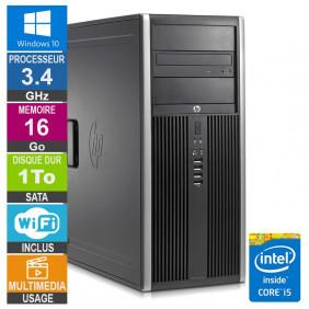 PC HP Elite 8200 CMT i5-2400 3.40GHz 16Go/1To Wifi W10