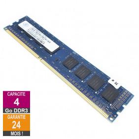 Barrette Mémoire 4Go RAM DDR3 Nanya NT4GC64B88B1NF-DI DIMM PC3-12800U 1Rx8