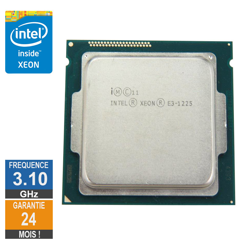 Processeur Intel Xeon E3-1225 3.10GHz...