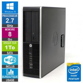 PC HP Elite 8200 SFF G630 2.70GHz 8Go/1To Wifi W10