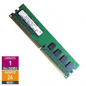 Barrette Mémoire 1Go RAM DDR2 Hynix HYMP112U64CP8-S6 DIMM PC2-6400U