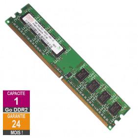 Barrette Mémoire 1Go RAM DDR2 Hynix HYMP112U64CP8-Y5 DIMM PC2-5300U
