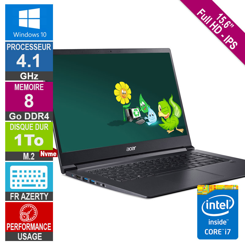 """ACER 15.6"""" A715-73G Core i7 4.1GHz..."""
