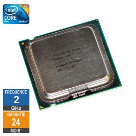Processeur Intel Core 2 Duo E4400 2GHz SLA3F LGA775 2Mo
