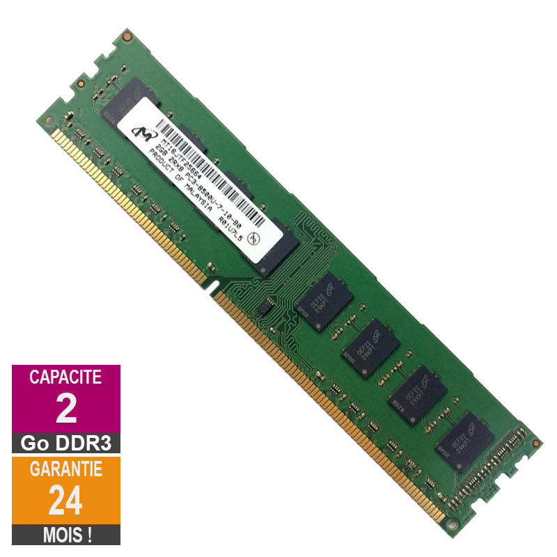 RAM Memory 2GB DDR3 Micron...