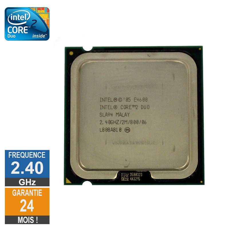Processeur Intel Core 2 Duo E4600...