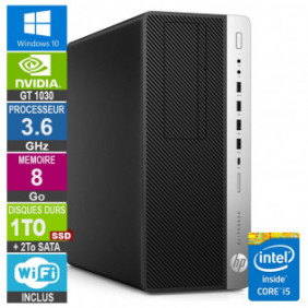 PC Gamer LPG-800G3 i5-6500 3.60GHz 8Go/1To SSD + 2To/GT 1030