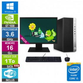 "PC Gamer LPG-800G3 i5-6500 3.60GHz 16Go/1To SSD/GT 1030/24"""