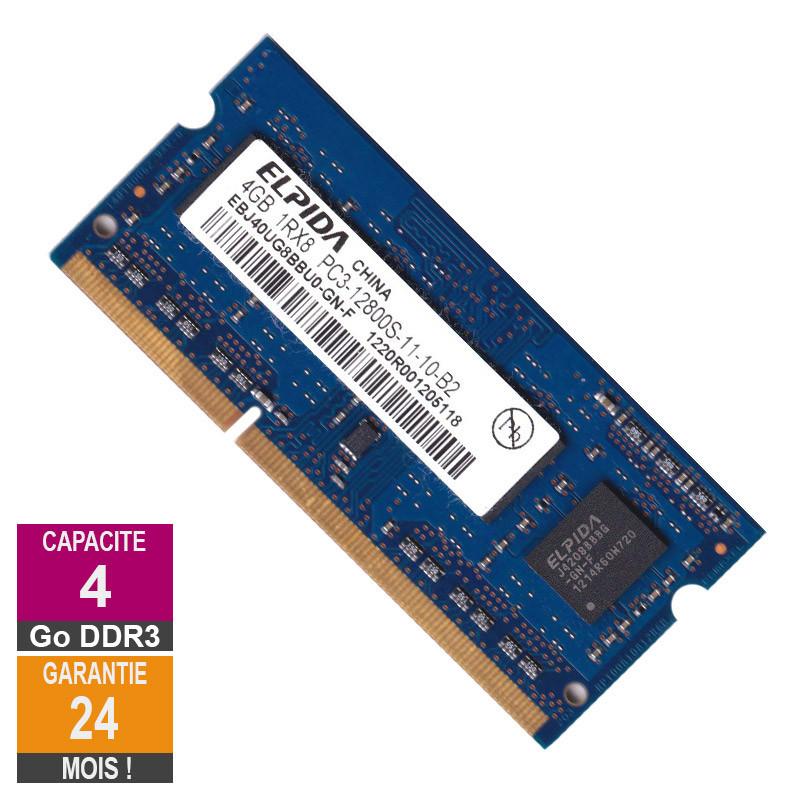 RAM Memory 4GB DDR3 Elpida...