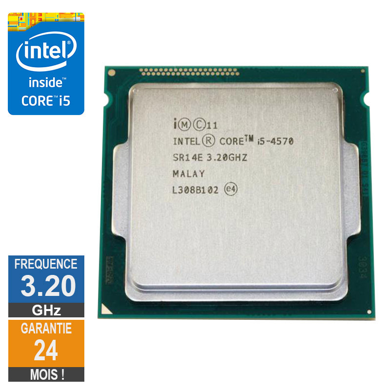 Processeur Intel Core I5-4570 3.20GHz...