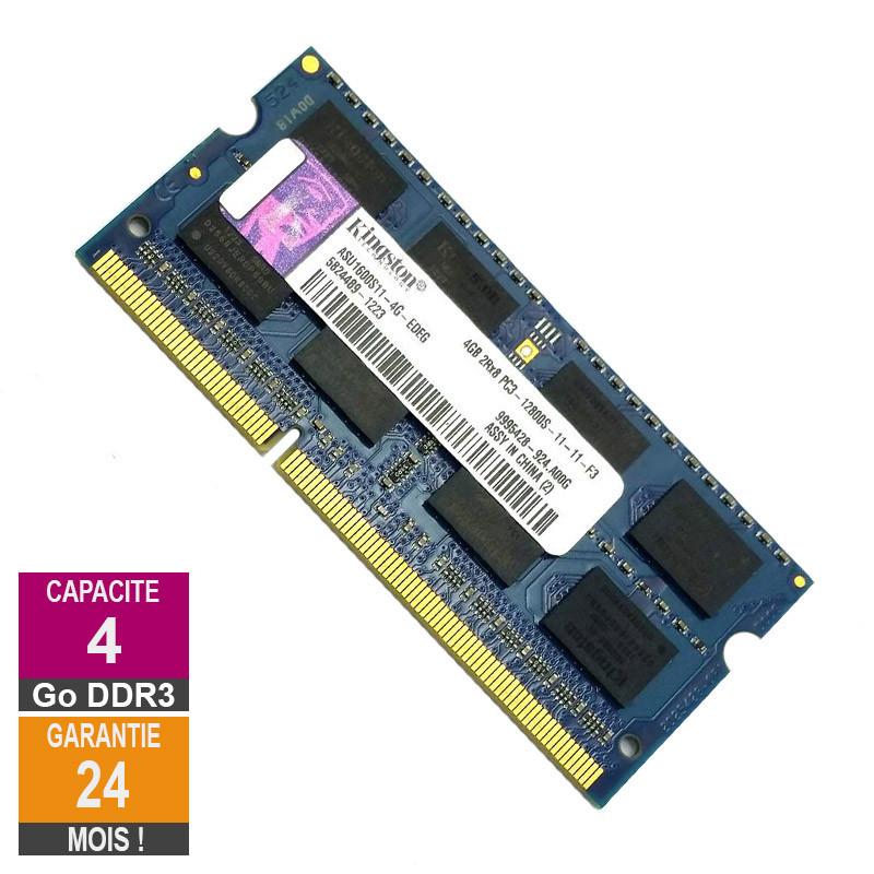 Barrette Mémoire 4Go RAM DDR3...