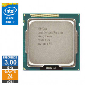 Processeur Intel Core I5-3330 3GHz SR0RQ FCLGA1155 6Mo