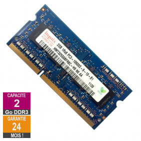 Barrette Mémoire 2Go RAM DDR3 Hynix HMT325S6BFR8C-H9 SO-DIMM PC3-10600 1333MHz 1Rx8