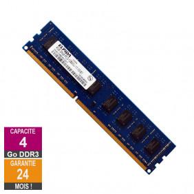 Barrette Mémoire 4Go RAM DDR3 Elpida EBJ41UF8BDW0-GN-F DIMM PC3-12800U