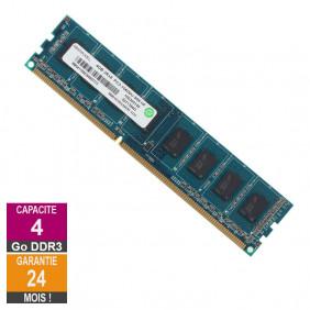 Barrette Mémoire 4Go RAM DDR3 Ramaxel RMR1870EC58E9F-1333 DIMM PC3-10600U
