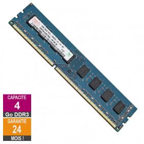 Barrette Mémoire 4Go RAM DDR3 Hynix HMT351U6CFR8C-H9 DIMM PC3-10600U