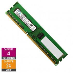 Barrette Mémoire 4Go RAM DDR3 Samsung M378B5273CH0-CK0 DIMM PC3-12800U 2Rx8