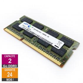 RAM Memory 2GB DDR3 Samsung M471B5673EH1-CH9 SO-DIMM PC3-10600 1333MHz 2Rx8