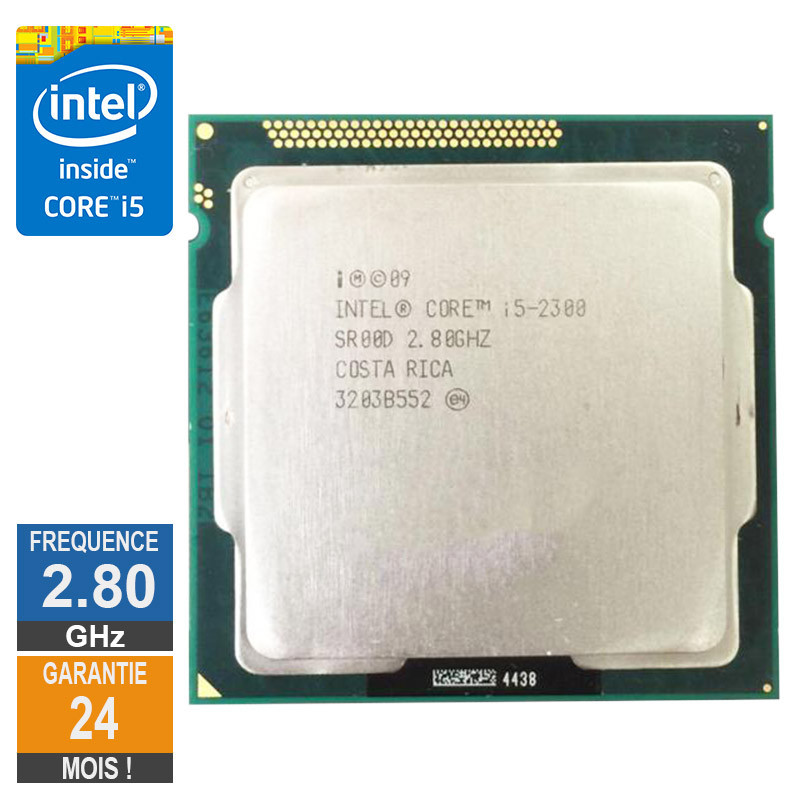 Processeur Intel Core I5-2300 2.80GHz...