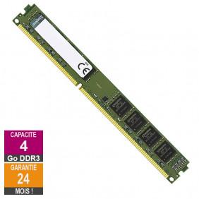 Barrette Mémoire 4Go RAM DDR3 Kingston KCP316NS8/4 DIMM PC3-12800U
