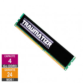 Barrette Mémoire 4Go RAM DDR3 SharkGaming T0143A DIMM PC3-12800U
