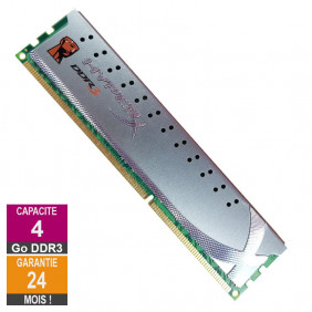 Barrette Mémoire 4Go RAM DDR3 Kingston KHX1600C9D3X2/4G DIMM PC3-12800U