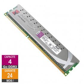 Barrette Mémoire 4Go RAM DDR3 Kingston KHX1600C9D3P1/4G DIMM PC3-12800U
