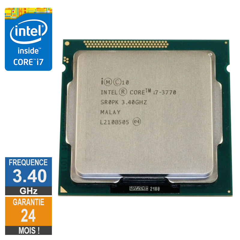 Processeur Intel Core I7-3770 3.40GHz...