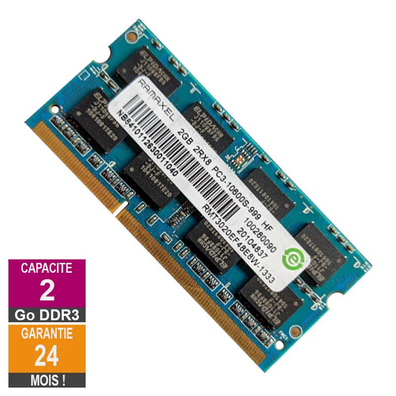 RAM Memory 2GB DDR3 Ramaxel...