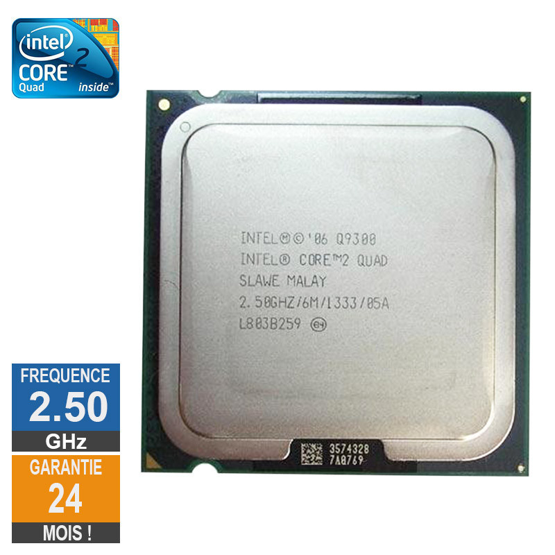 Processeur Intel Core 2 Quad Q9300...