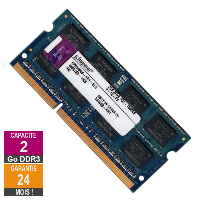 RAM Memory 2GB DDR3 Kingston...