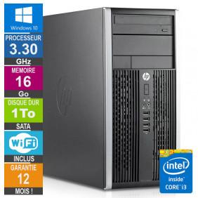 PC HP Pro 6300 MT Core i3-3220 3.30GHz 16Go/1To Wifi W10
