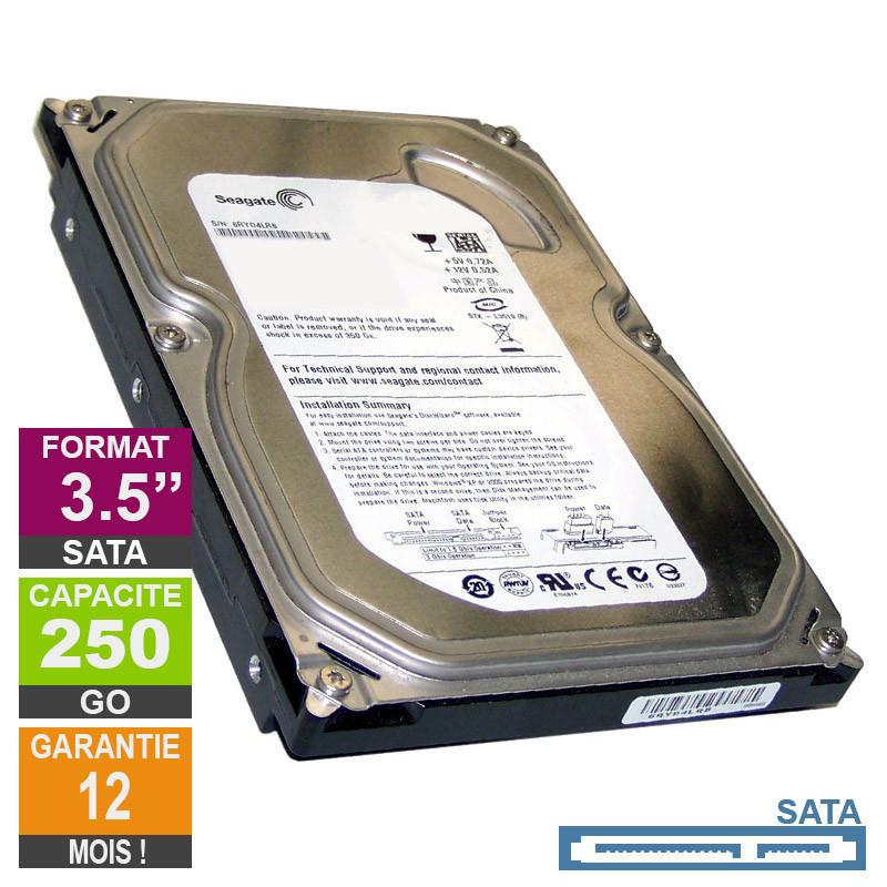 Hard Drive 250GB SATA 3.5 Seagate...