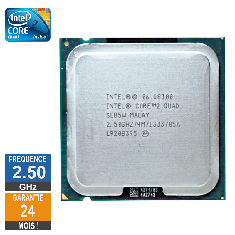 Processeur Intel Core 2 Quad Q8300...