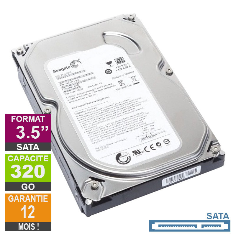 Hard Drive 320GB SATA 3.5 Seagate...