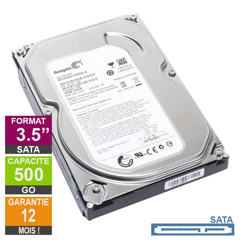 Hard Drive 500GB SATA 3 5 Seagate Barracuda ST500DM002 7200rpm 16MB