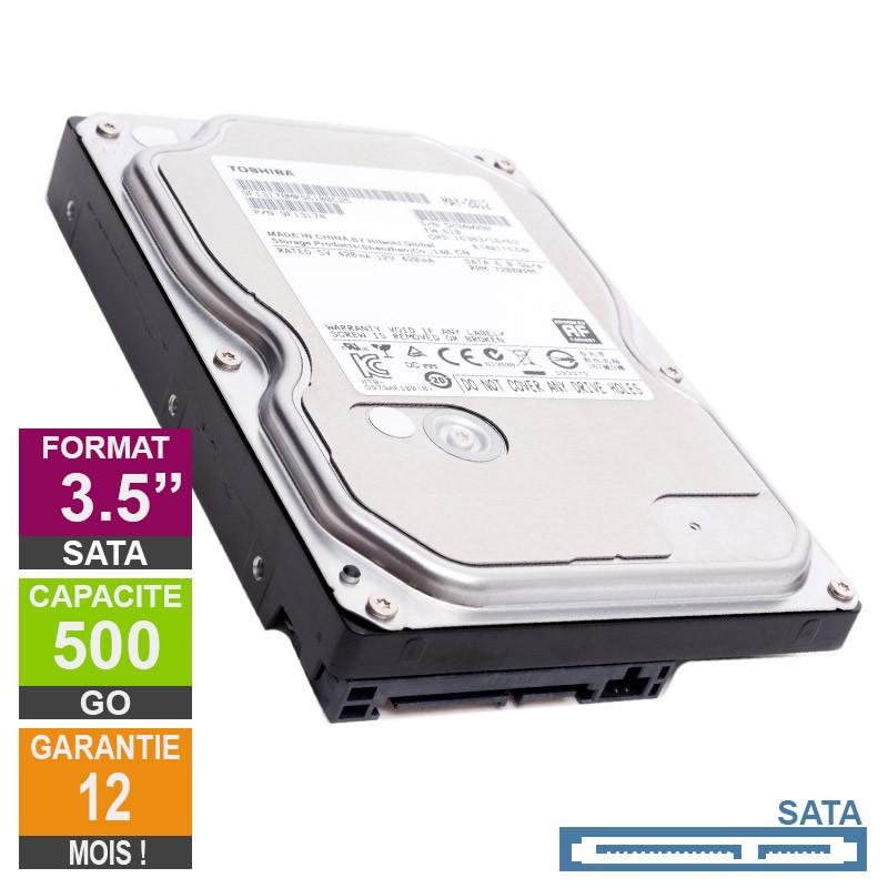 Hard Drive 500GB SATA 3.5 Toshiba...