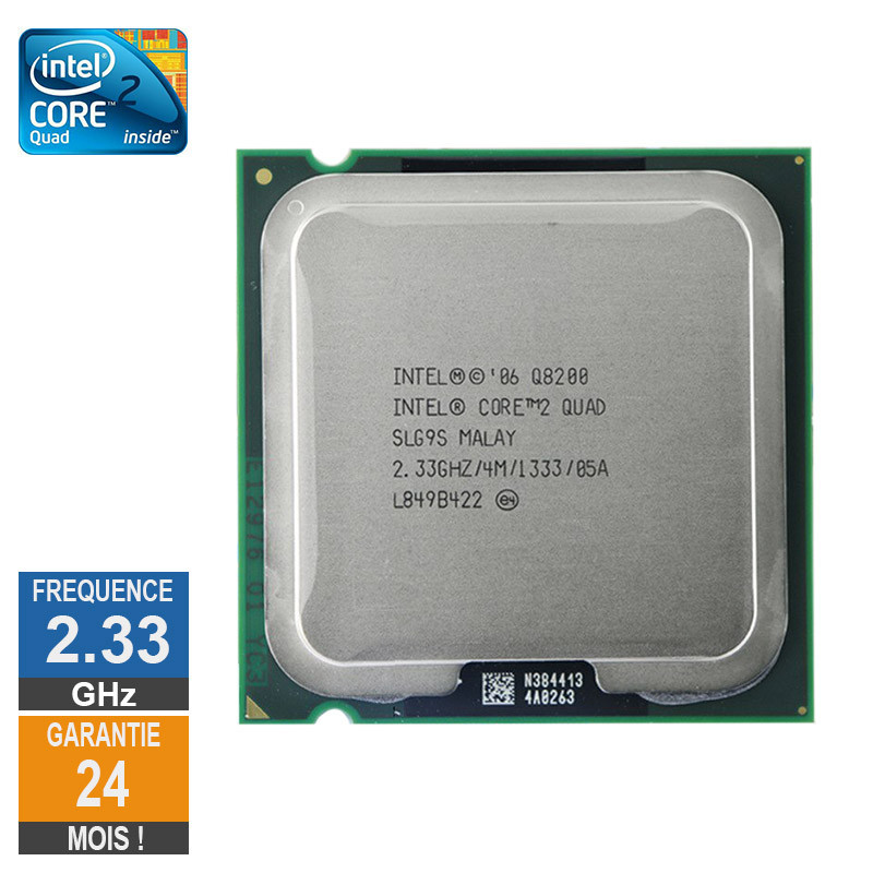 CPU Intel Core 2 Quad Q8200 2.33GHz...