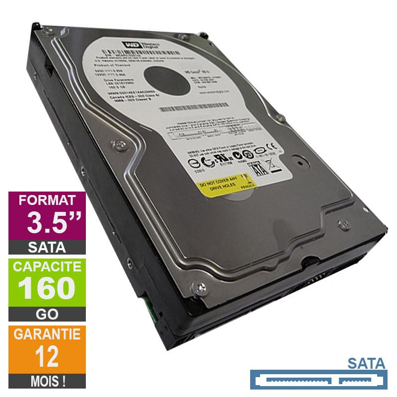 Hard Drive 160GB SATA 3.5 Western...