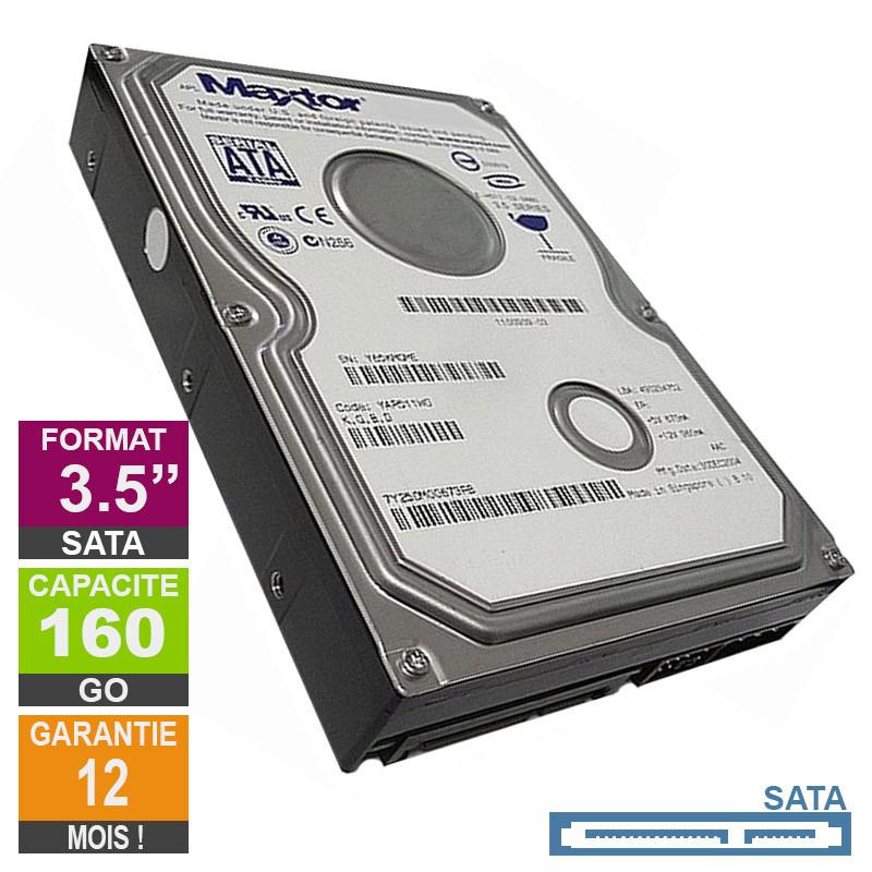 Hard Drive 160GB SATA 3.5 Maxtor...